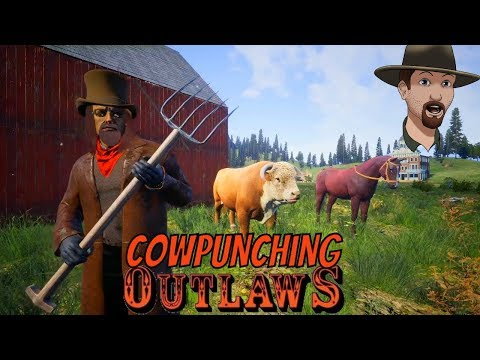 Bull Taming and Butter Making! -Livestock Update- OUTLAWS of the Old West