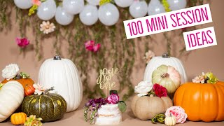 100 MINI SESSION IDEAS - Professional Childrens Photography Tips, Tricks, And Ideas
