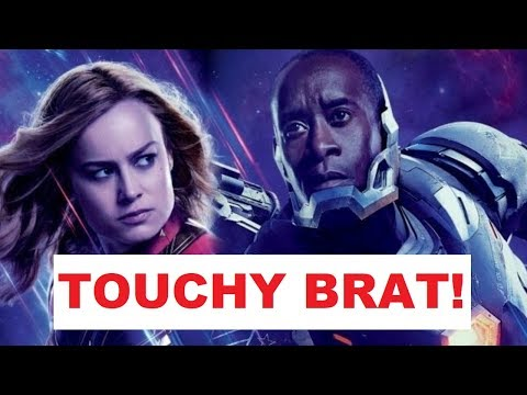 SO CAN BRIE LARSON TOUCH DON CHEADLE?