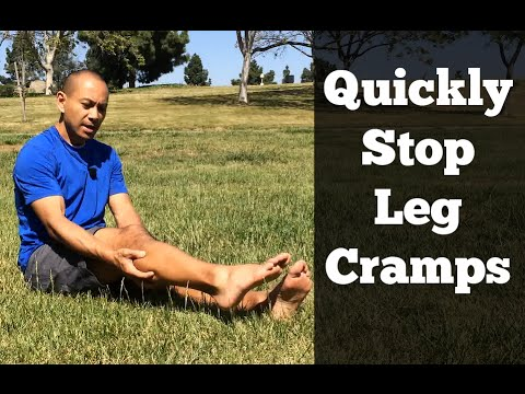 How To Stop Leg Muscle Cramps