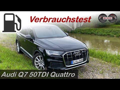 Was verbraucht der neue Audi Q7 im Alltag?! Audi Q7 50 TDI Quattro - Verbrauchstest - Review - Test