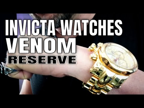 Invicta Watches Review : Invicta Venom Reserve Watch