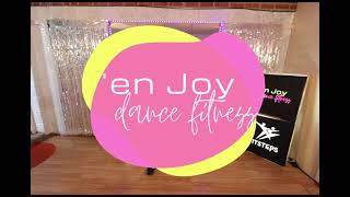 FitSteps cooldown stretch with 'en Joy dance fitness Hampshire & online