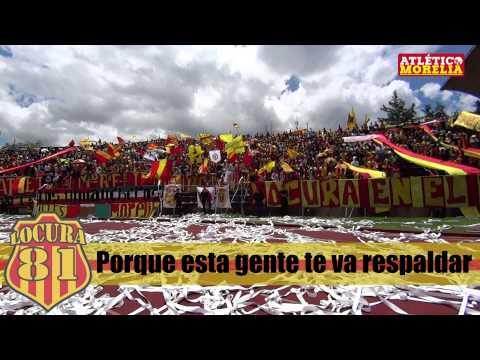 """Tu cárcel"" Barra: Locura 81 • Club: Monarcas Morelia"