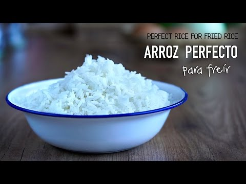 Como cocinar arroz perfecto para hacer arroz frito - Perfect rice for fried rice l Kwan Homsai