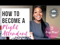 How To Become a Flight Attendant   3 Easy Steps!   Video Interview, F2F, and Training