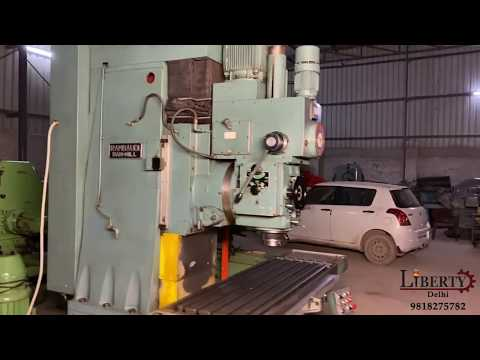 Rambaudi Bed Milling Machine