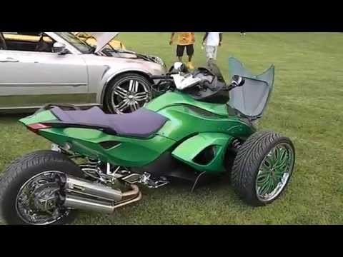 Custom Airbrushed Joker Edition Can-am Spyder On Forgiato's Mp3