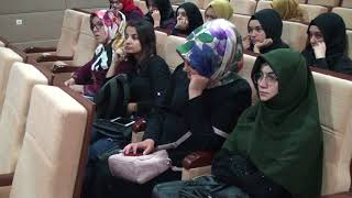 KMÜ'de 'Kainatta ve Kuran'da Tevafuk' Konuşuldu
