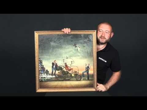 Gemäldelook für Fotos auf Leinwand
