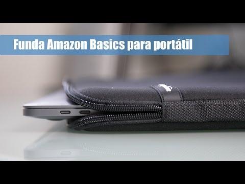 Funda Amazon Basics para portátil - Análisis en Español