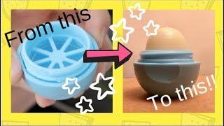 Refilling Your EOS Lip Balm