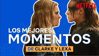 Los mejores momentos de CLEXA | Los 100 | Netflix España