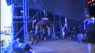 Fear Factory big god raped souls live 1993