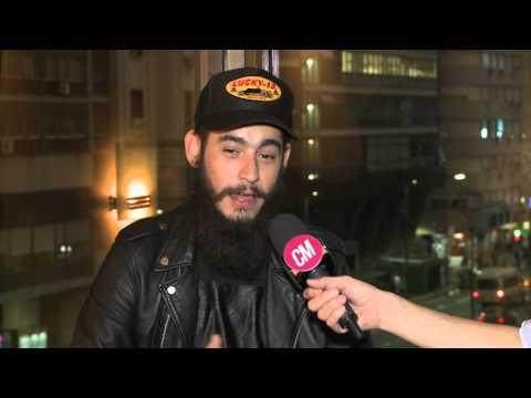 Ulises Bueno video No me pidan que baje el volumen - Entrevista CM 2016