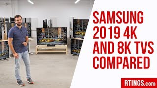 Video: All Samsung 2019 4k and 8k TVs Compared