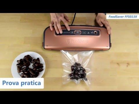 FoodSaver FFS013X | Recensione della macchina sottovuoto | Qualescegliere.it