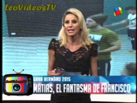 Francisco le tiene miedo a Matias GH 2015 #GH2015 #GranHermano