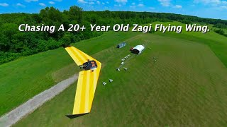 Chasing A 20+ Year Old Zagi Flying Wing