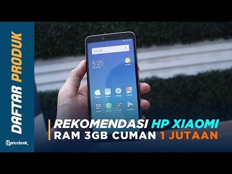 Daftar HP Xiaomi 1 Jutaan Dengan RAM 3GB di 2019, Terbaik & Termurah!