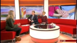 myageingparent talks to BBC Breakfast about stress & the Sandwich Generation