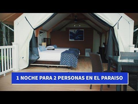 ACAMPAR CON LUJO Y ESTILO (Sorteo de 1 noche ALL inclusive) ALTOS DEL MARIA