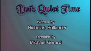 "Animaniacs - ""Dot's Quiet Time"" title card"
