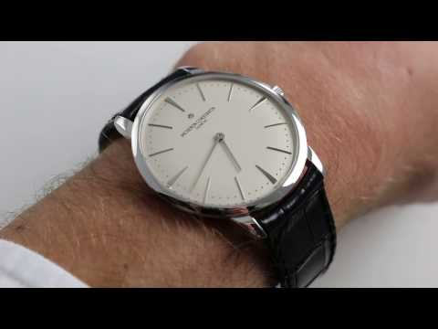 Vacheron Constantin Patrimony Ref. 81180/000G-9117 Watch Review