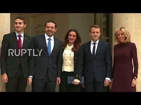 France: Macron receives 'Prime Minister' Hariri amid turmoil