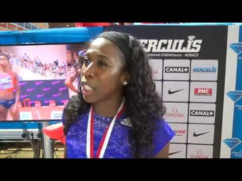 Francena McCorory now striving for 2015 Diamond Trophy win