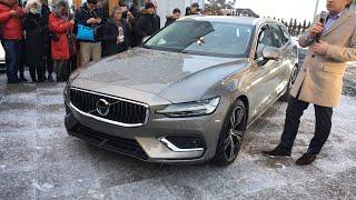 New Volvo V60 live