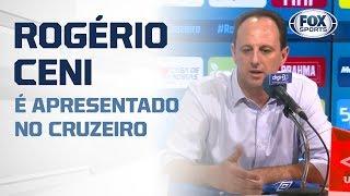 ELE CHEGOU!Rogério Ceni é apresentado no Cruzeiro. Veja primeira entrevista com o técnico da Raposa!