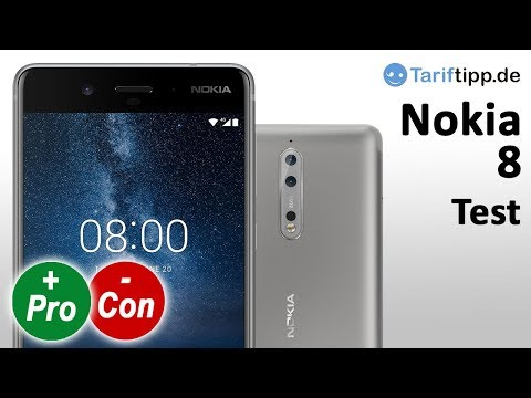 Nokia 8 | Test deutsch | Nokia´s Flaggschiff-Handy mit Zeiss-Dualkamera im Test