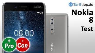 Nokia 8 | Test deutsch | Nokia´s Flaggschiff-Handy mit Zeiss-Dualkamera im Test