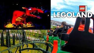 The Dragon Roller Coaster - Dark Ride Hybrid Onride POV Legoland Japan