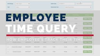 Employee Time Query