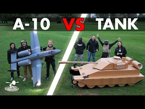 a10-warthog--vs--tank--epic-airsoft-battle