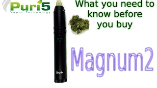 puri5 magnum 2 vaporizer unboxing review users guide what you need to know