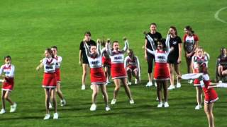 preview picture of video 'Vienna Pirates Cheerleading - Red Crystal, Juniors - Showact Schwechat'