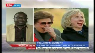 Hillary's Moment: Alex Chamwada reports from Philadelphia