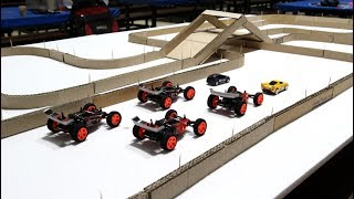 DIY Cardboard Racing Road for Super Cars