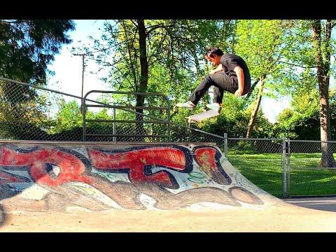 Emerald Skatepark - Eugene, OR ft Ashley Marion [SKATEBOARDING]