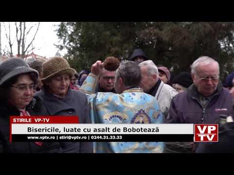 Bisericile, luate cu asalt de Bobotează