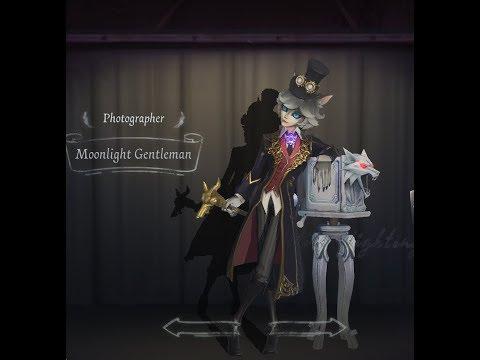 IDENTITY V] Photographer | Moonlight Gentleman Skin Showcase +