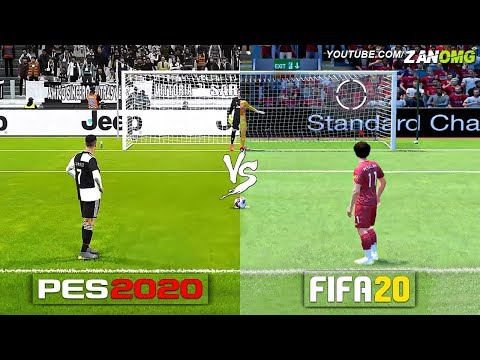 FIFA 20 vs PES 2020 Official Gameplay Comparison