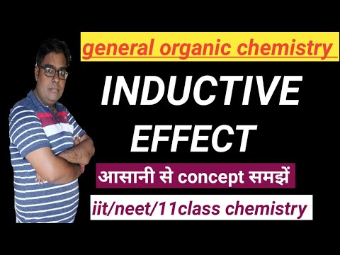 Inductive effect /I effect / reaction mechanism / organic chemistry /iit/ neet/ 11 class  chemistry