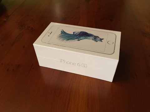 Unboxing: iPhone 6s (Silver)