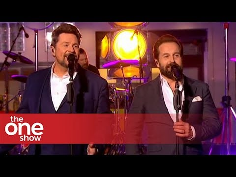 Michael Ball & Alfie Boe – The Greatest Show (Live on The One Show)
