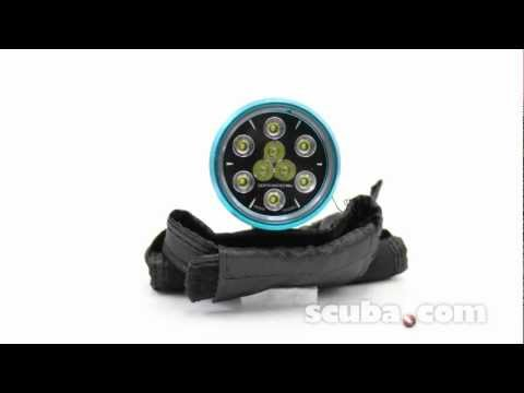 Light & Motion Sola Dive 1200 L.E.D. Hands Free Dive Light Video Review