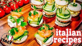 Appetizing Party Snacks !!! Italian Recipes!!!!